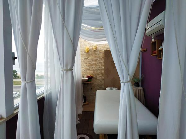 Sala sublocação massagem